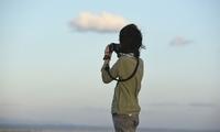 战地记者继承者!海清儿子穿迷彩举相机有模有样