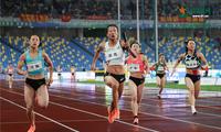 直击全运会︱女子4x100米接力决赛 奥运联合队夺冠军