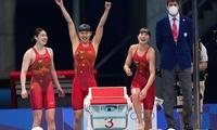 女子4X200米自由泳接力决赛:中国队夺冠